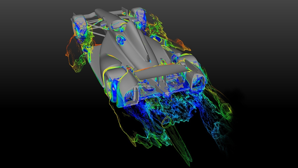 CFD-based aerodynamic studies and assessments for motorsport