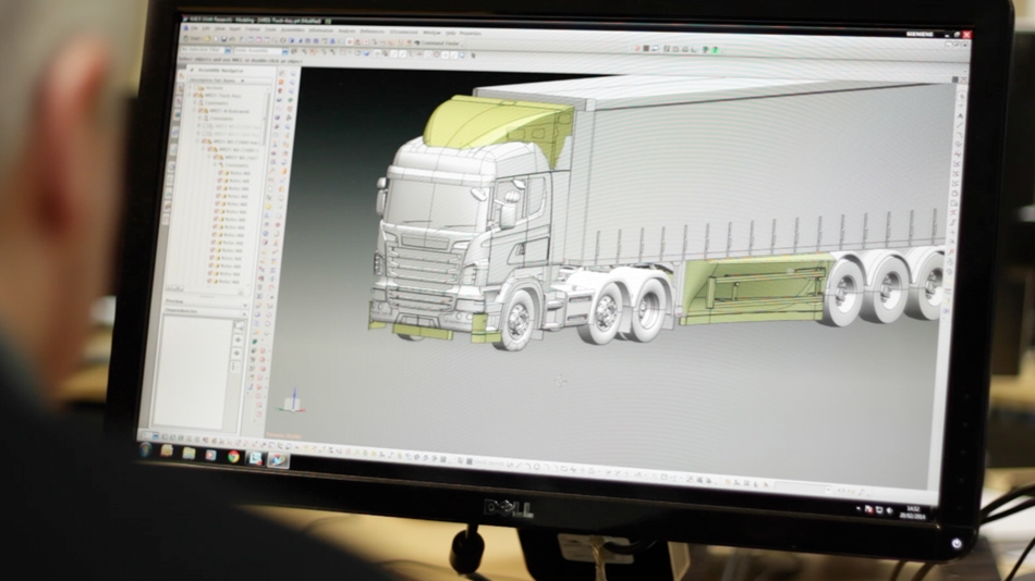CFD for lorries: Eddie Stobart - Evolution of the WR AeroKit™