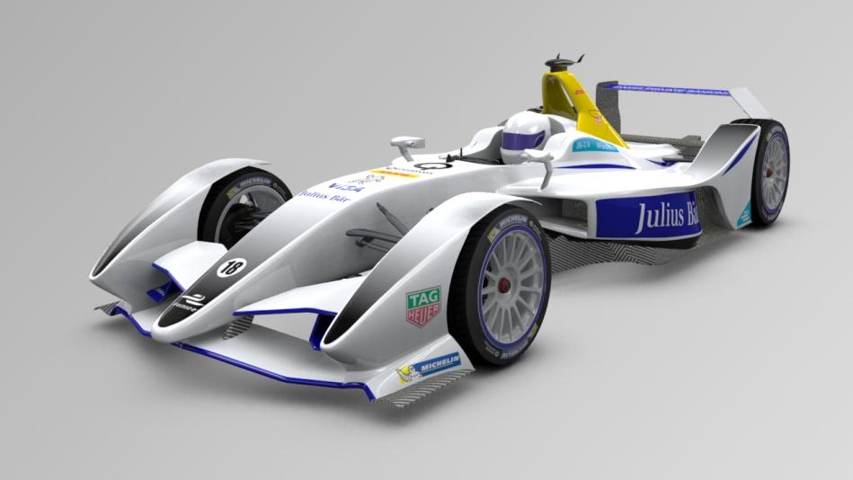 2018 Formula E car