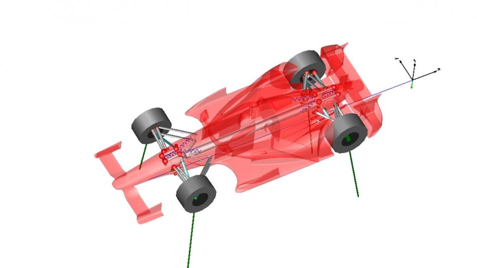 WR Dymola Vehicle Model