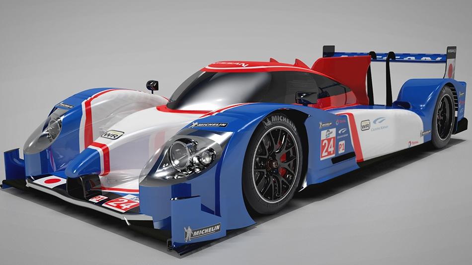 LMP1 Car concept optimised for Le Mans 24 Hour race